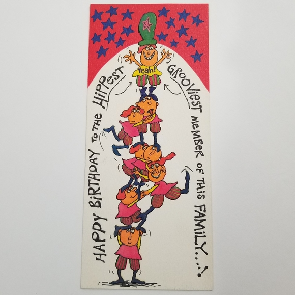 1970 Hi Brows American Greetings Birthday Card